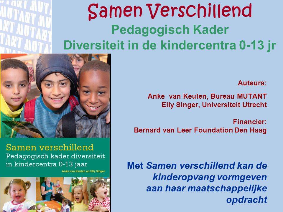 Diversiteit in de kindercentra 0-13 jr