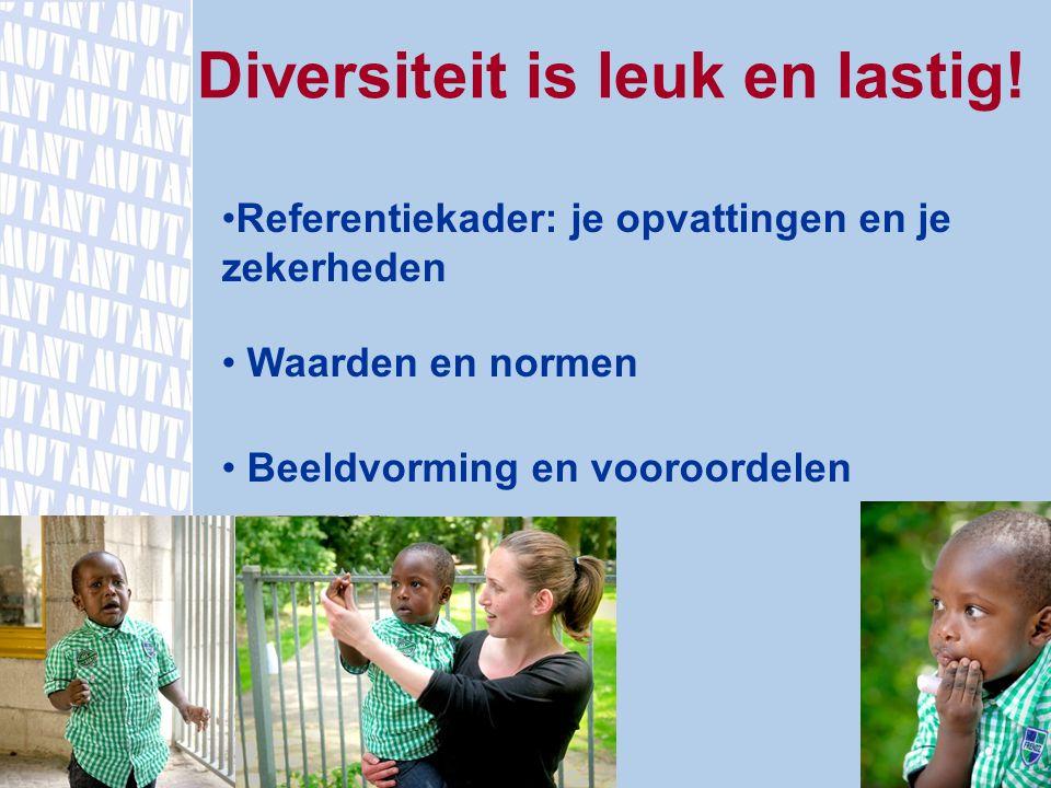 Diversiteit is leuk en lastig!