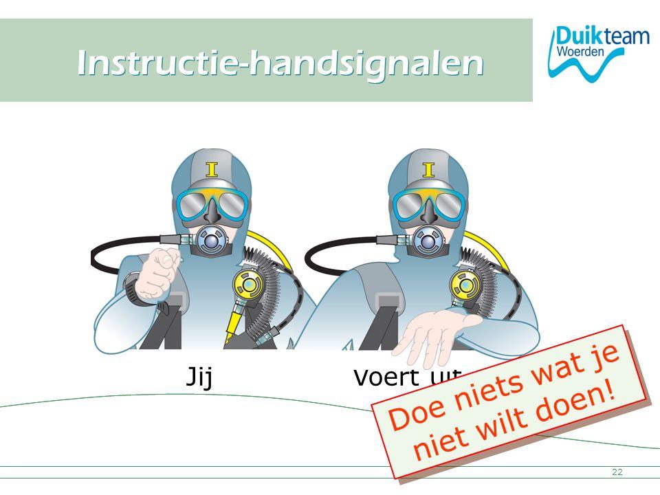 Instructie-handsignalen