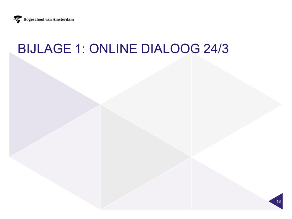 Bijlage 1: Online dialoog 24/3