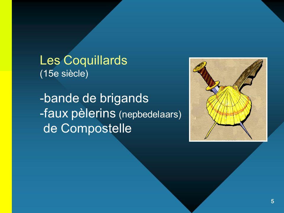 faux pèlerins (nepbedelaars) de Compostelle