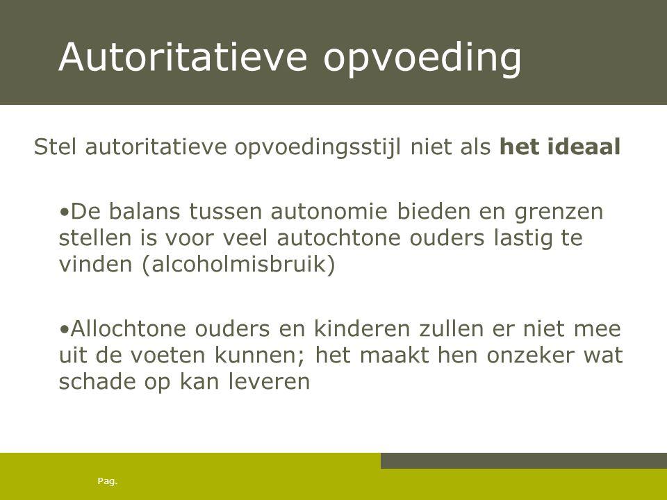 Autoritatieve opvoeding