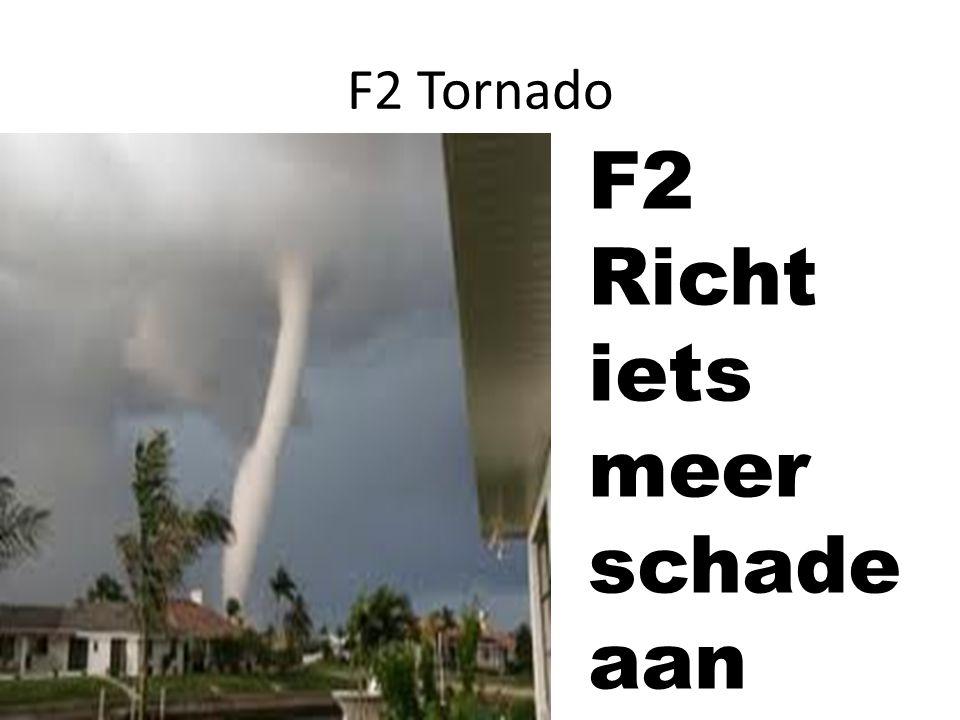 F2 Richt iets meer schade aan