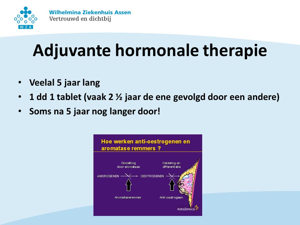 Adjuvante hormonale therapie