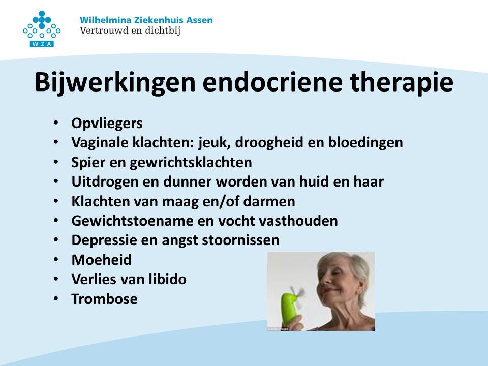 Bijwerkingen endocriene therapie