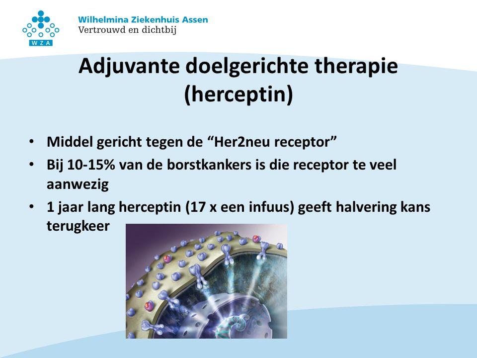 Adjuvante doelgerichte therapie (herceptin)