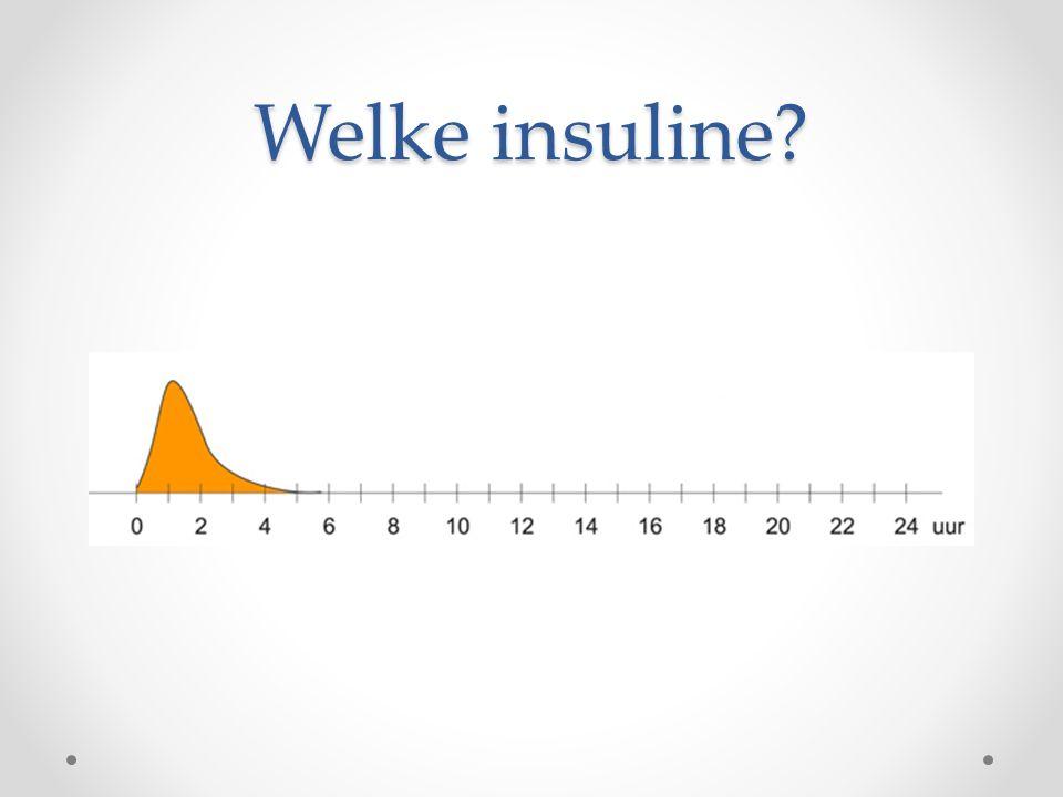 Welke insuline