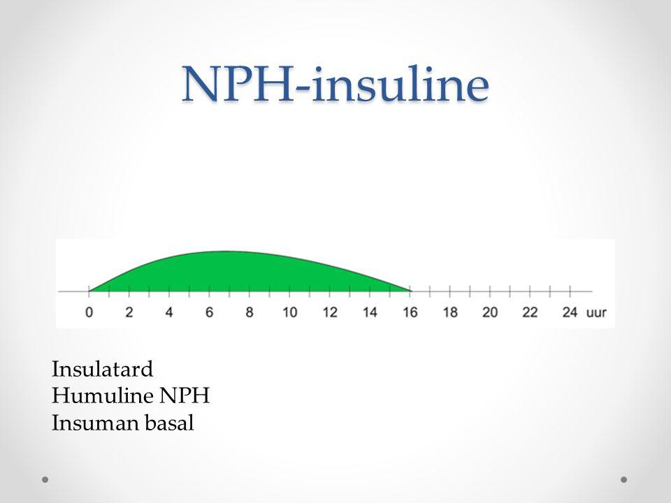 NPH-insuline Insulatard Humuline NPH Insuman basal
