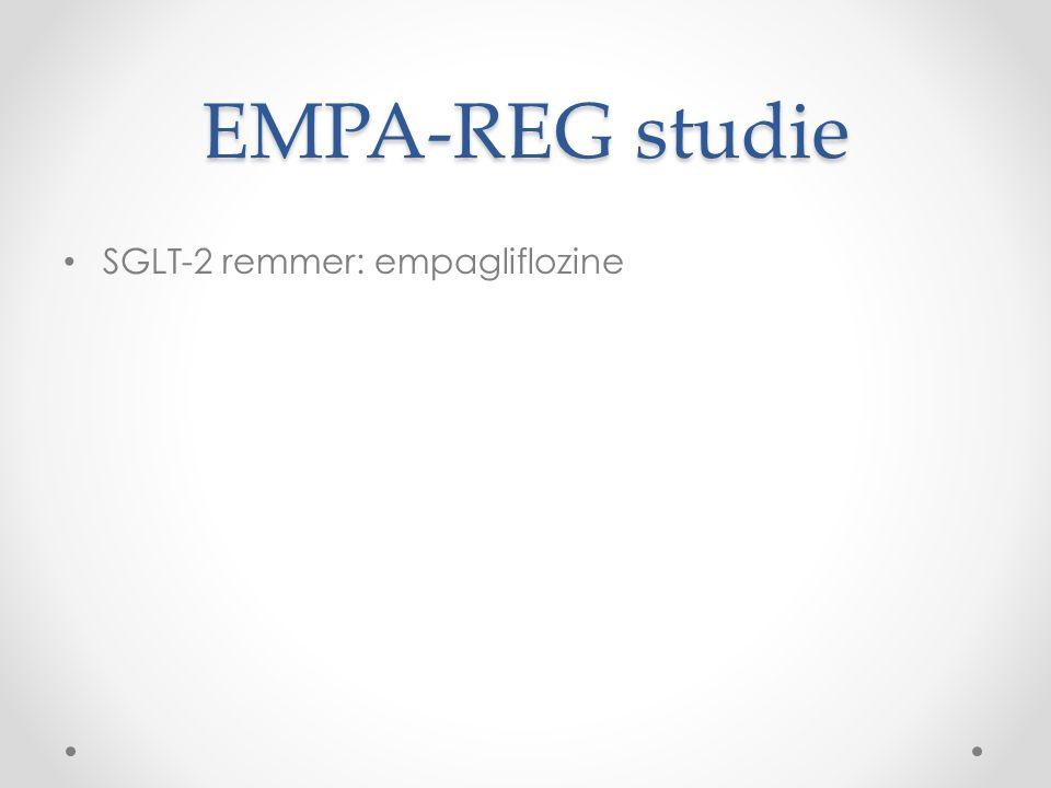 EMPA-REG studie SGLT-2 remmer: empagliflozine
