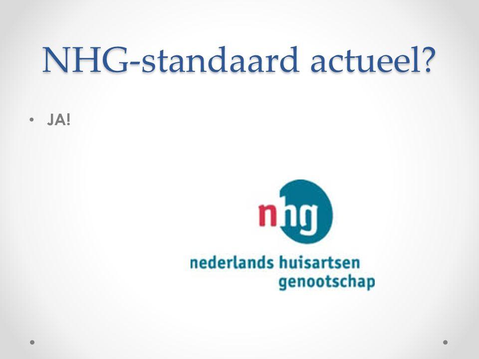 NHG-standaard actueel