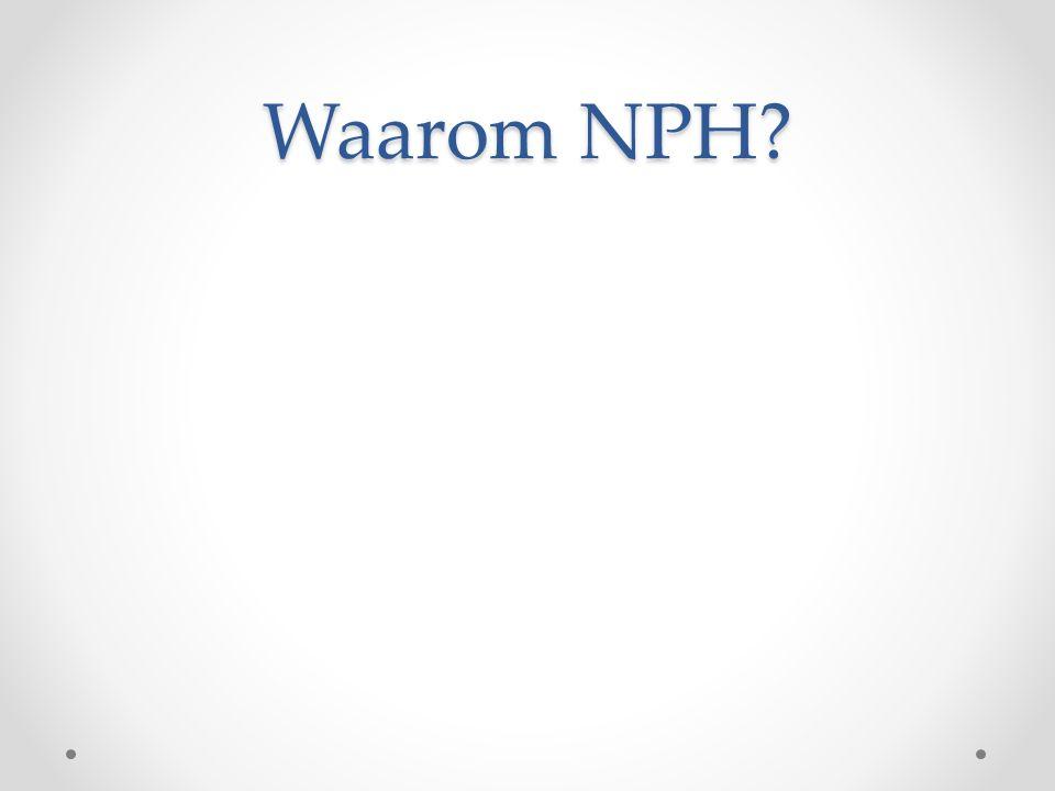 Waarom NPH