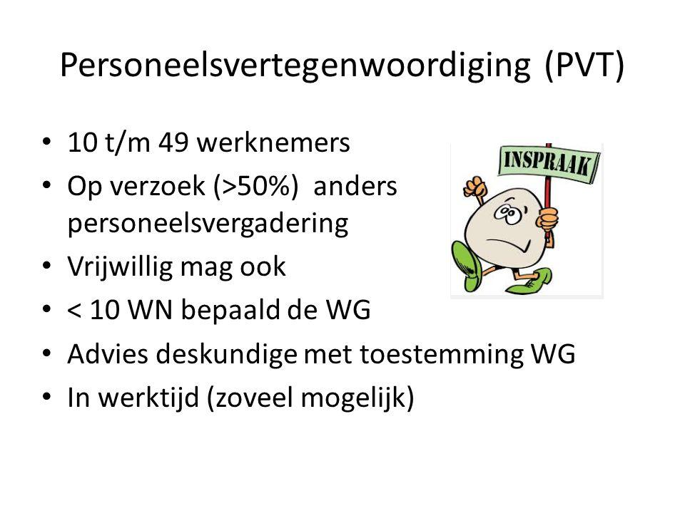 Personeelsvertegenwoordiging (PVT)