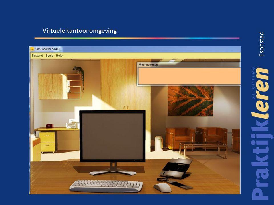 Virtuele kantoor omgeving
