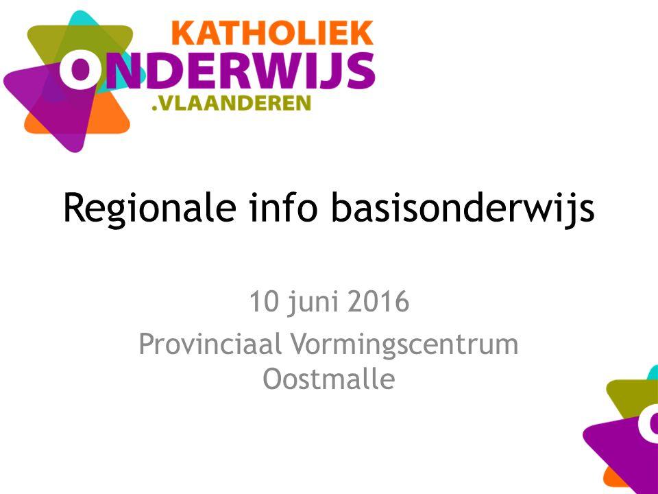 Regionale info basisonderwijs