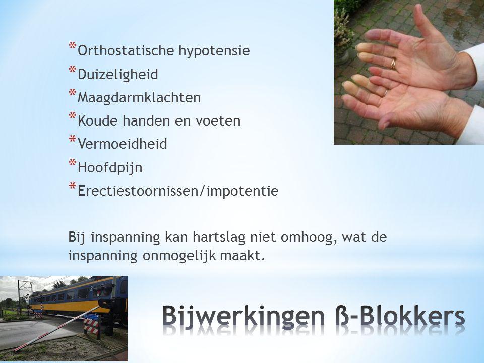 Bijwerkingen ß-Blokkers
