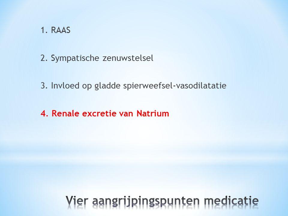 Vier aangrijpingspunten medicatie