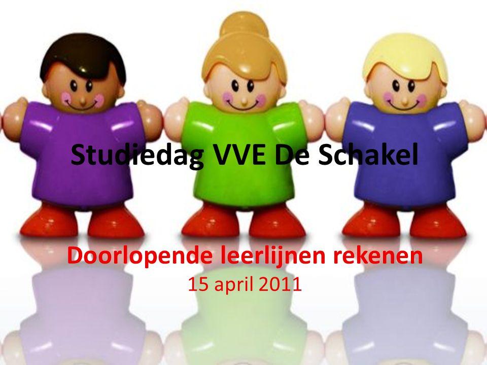 Studiedag VVE De Schakel Doorlopende leerlijnen rekenen 15 april 2011