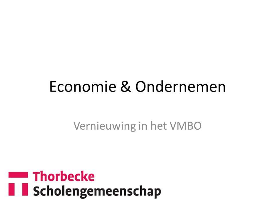 Vernieuwing in het VMBO