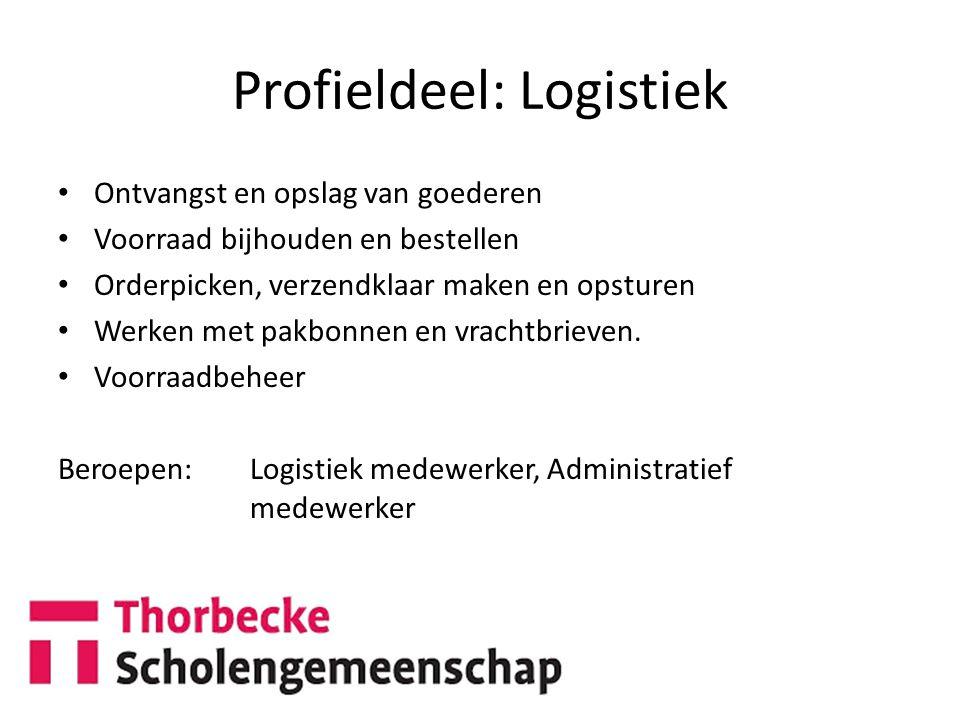 Profieldeel: Logistiek