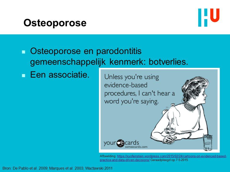 xxxxxxxxxxxxxxx 4/28/2017. Osteoporose. Osteoporose en parodontitis gemeenschappelijk kenmerk: botverlies.
