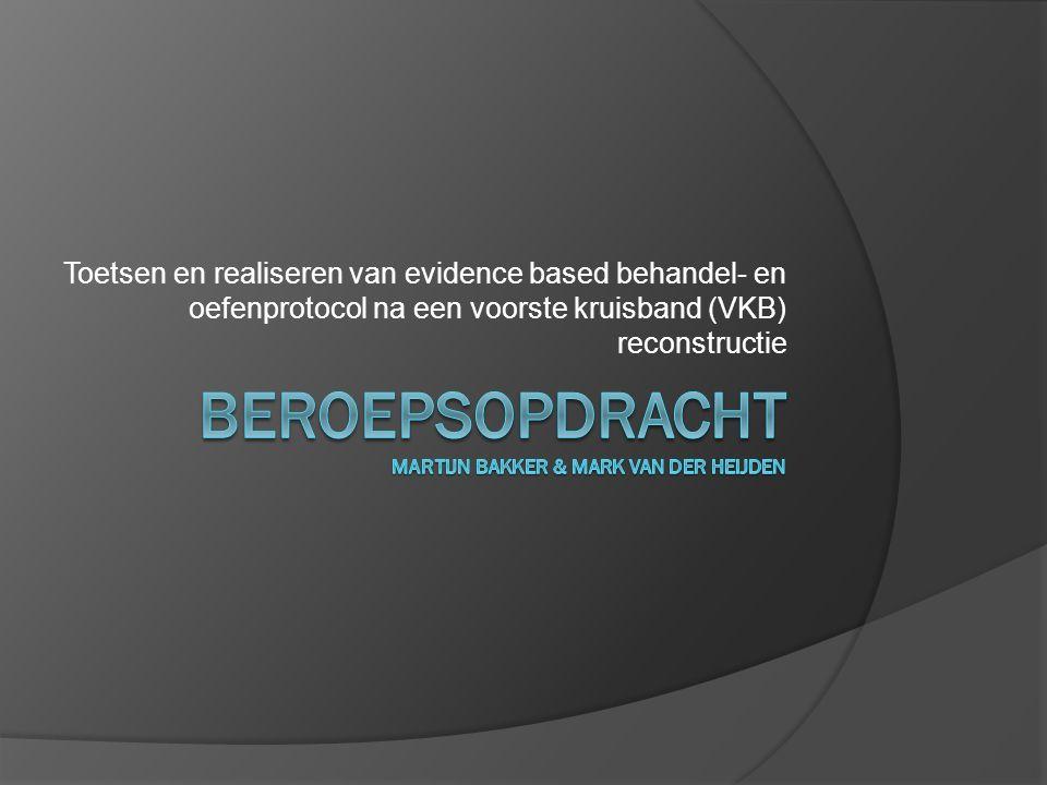 Beroepsopdracht Martijn Bakker & Mark van der Heijden