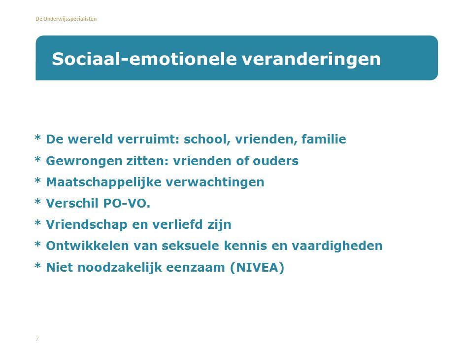 Sociaal-emotionele veranderingen