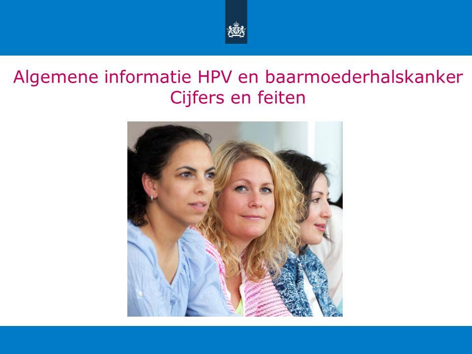 Algemene informatie HPV en baarmoederhalskanker