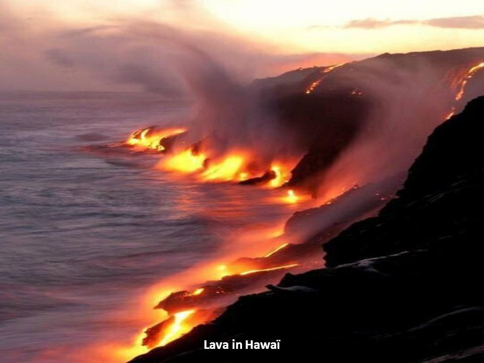 Lava in Hawaï