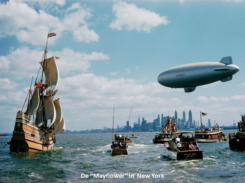 De Mayflower in New York