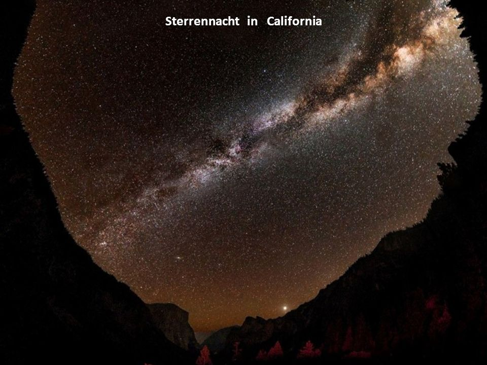 Sterrennacht in California