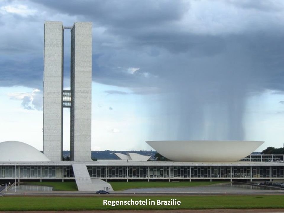 Regenschotel in Brazilie