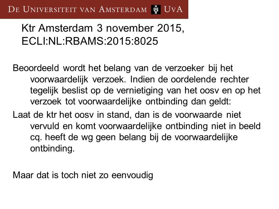 Ktr Amsterdam 3 november 2015, ECLI:NL:RBAMS:2015:8025