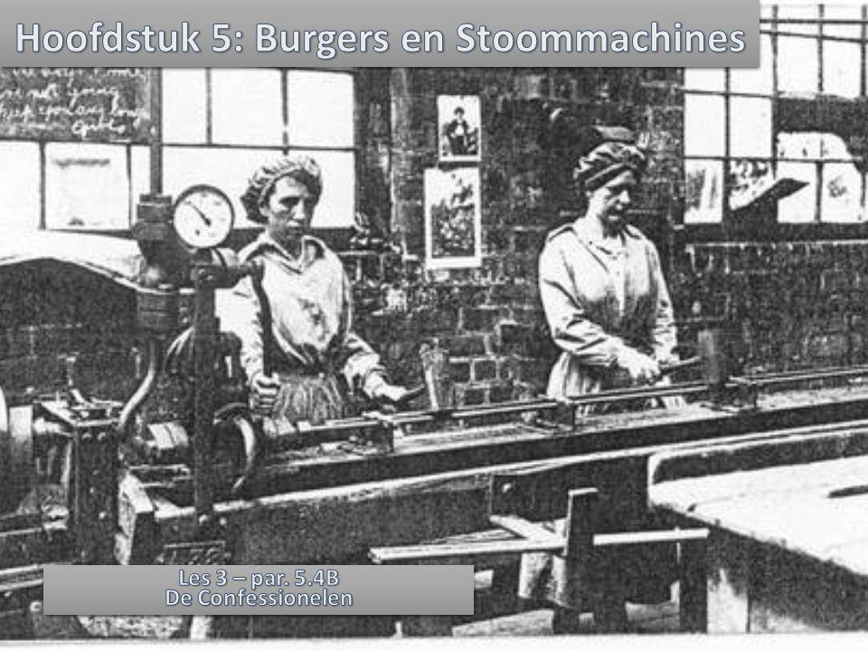 Hoofdstuk 5: Burgers en Stoommachines