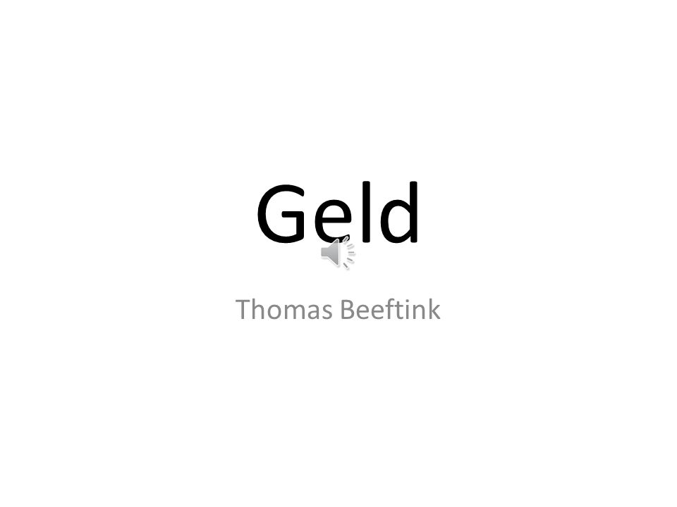 Geld Thomas Beeftink