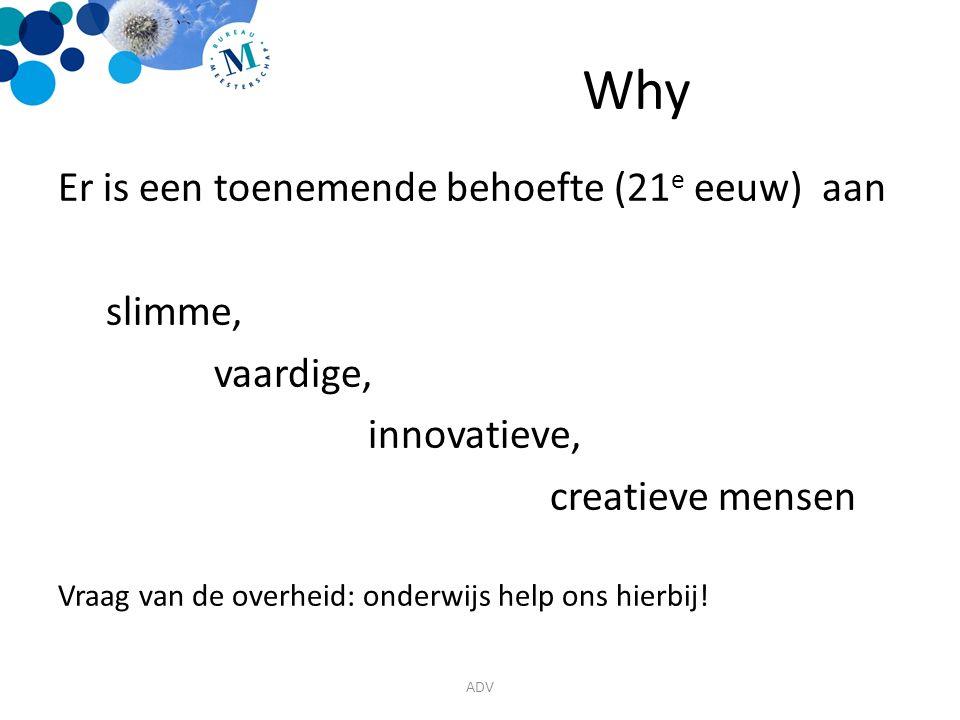 Why Er is een toenemende behoefte (21e eeuw) aan slimme, vaardige,