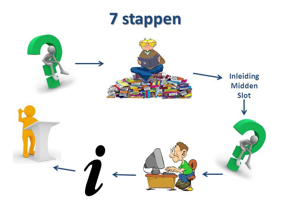 7 stappen Inleiding Midden Slot