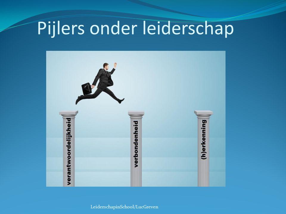 Pijlers onder leiderschap