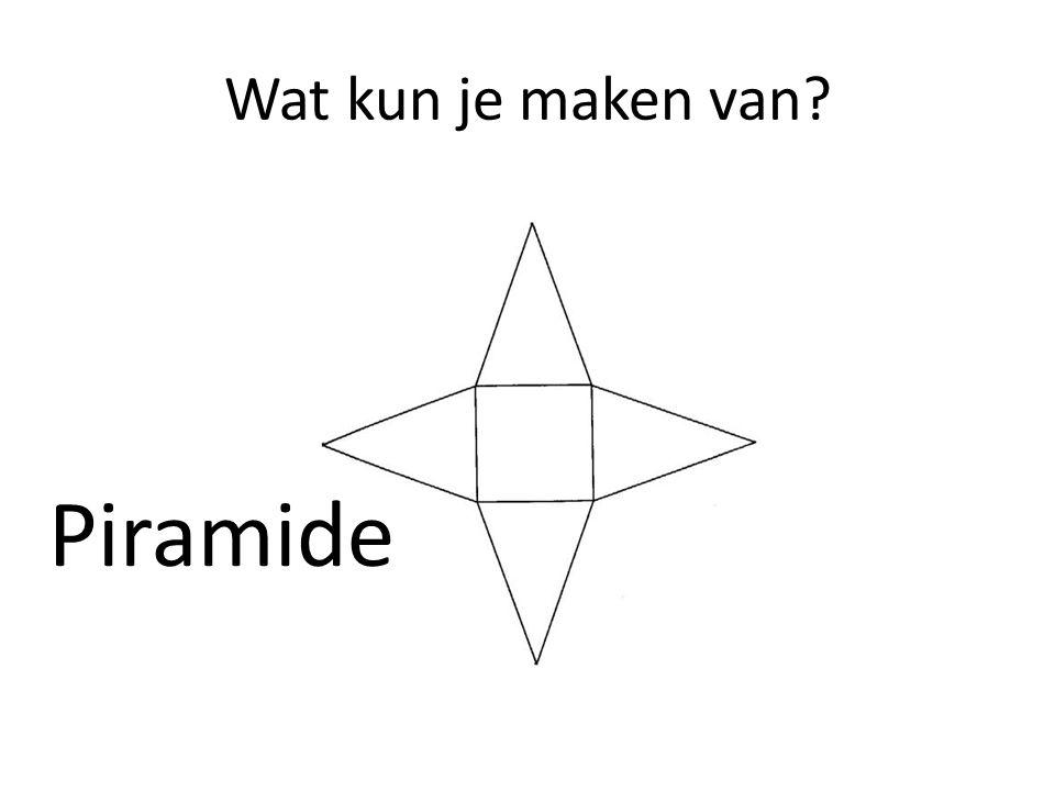 Wat kun je maken van Piramide