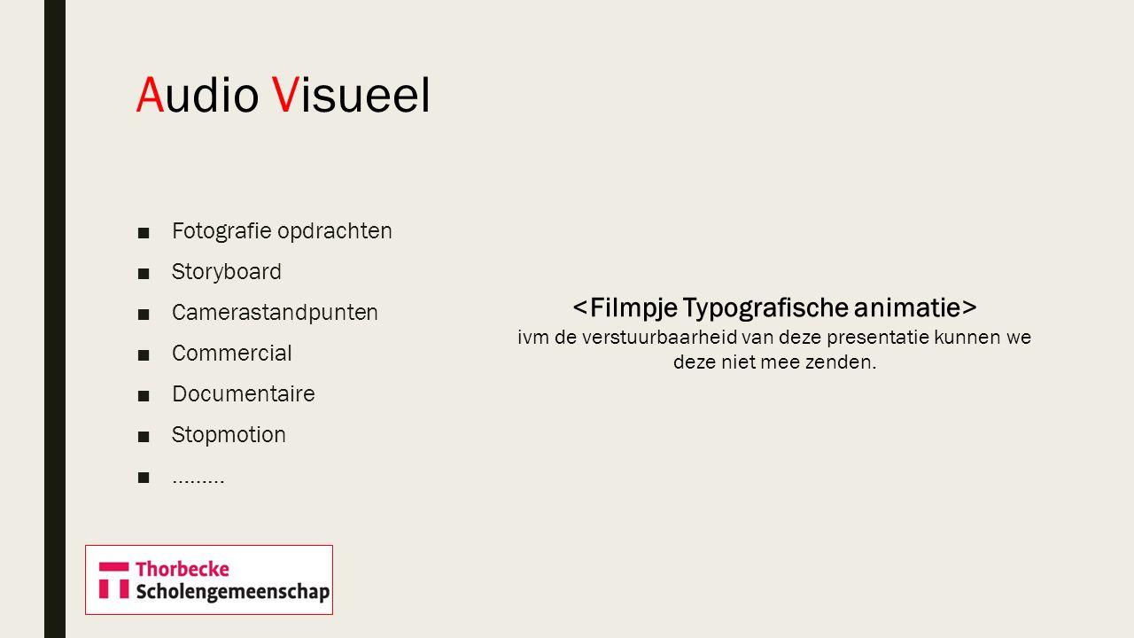<Filmpje Typografische animatie>
