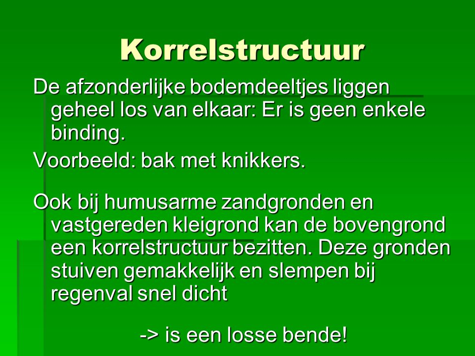 -> is een losse bende!