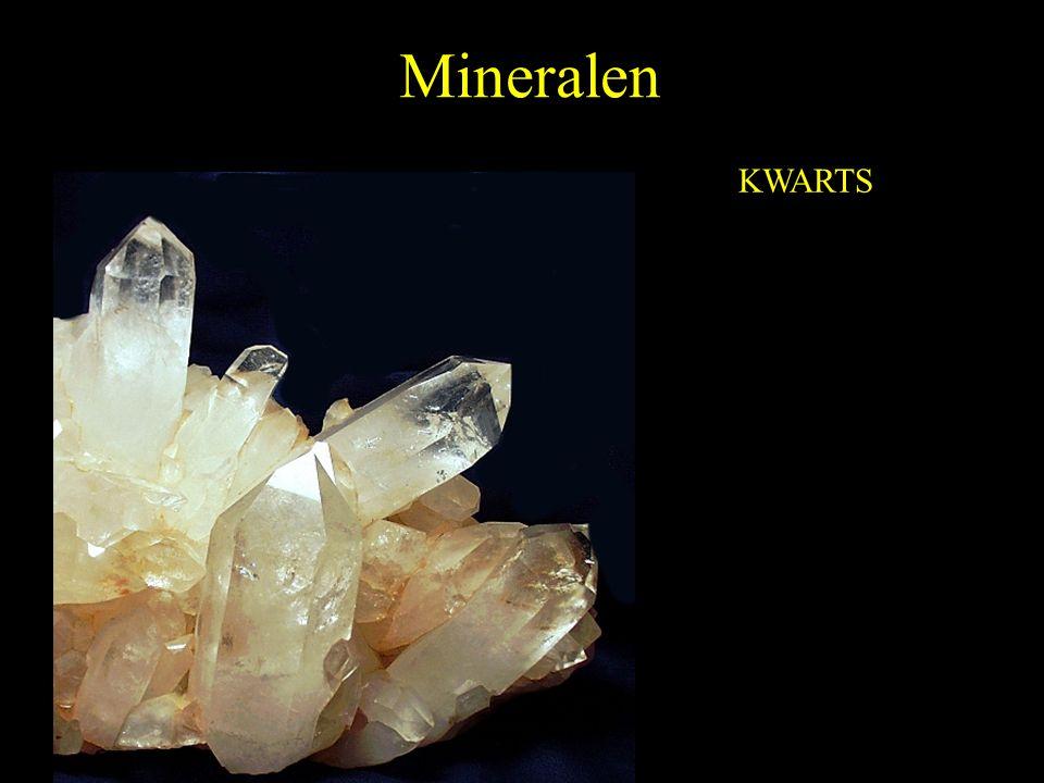 Mineralen KWARTS