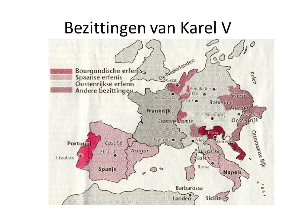 Bezittingen van Karel V
