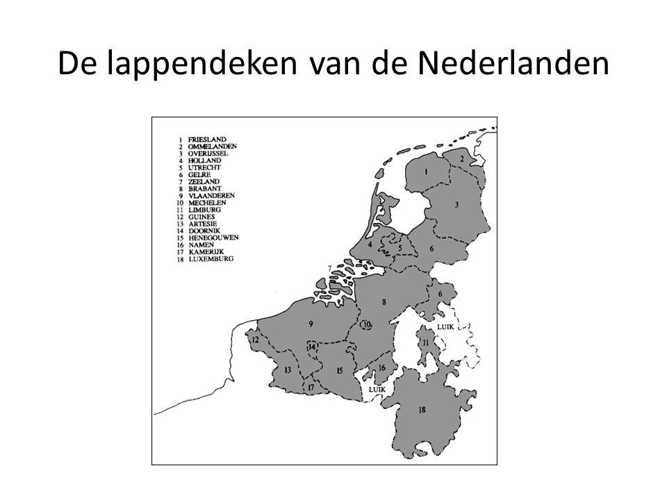 De lappendeken van de Nederlanden