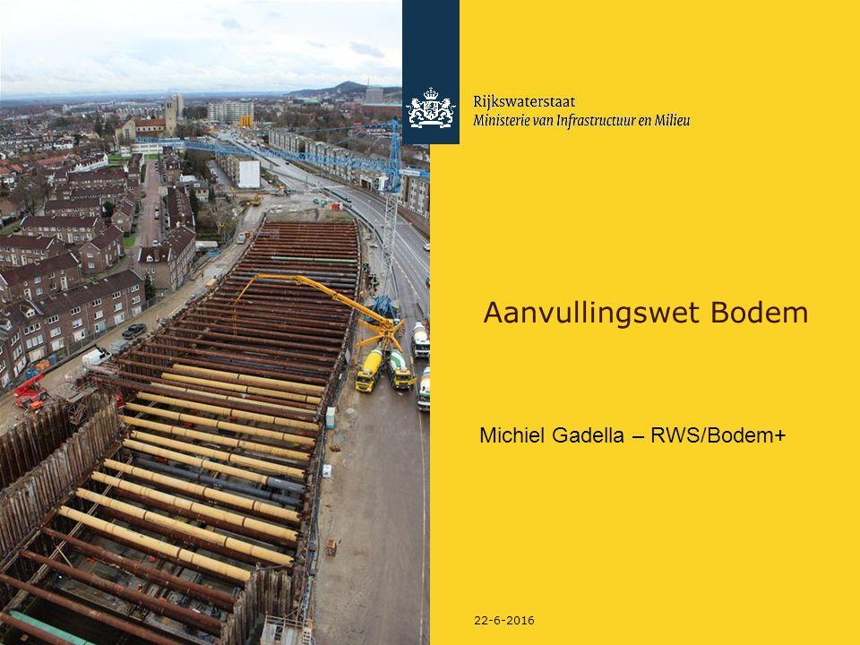 Aanvullingswet Bodem Michiel Gadella – RWS/Bodem+ 28-4-2017