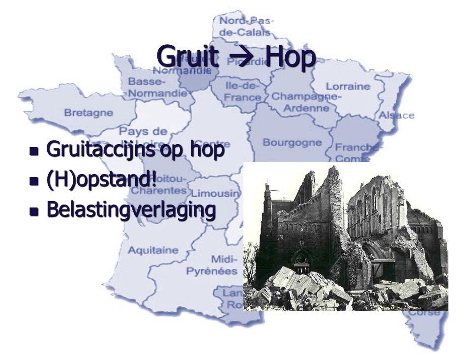 Gruit  Hop Gruitaccijns op hop (H)opstand! Belastingverlaging