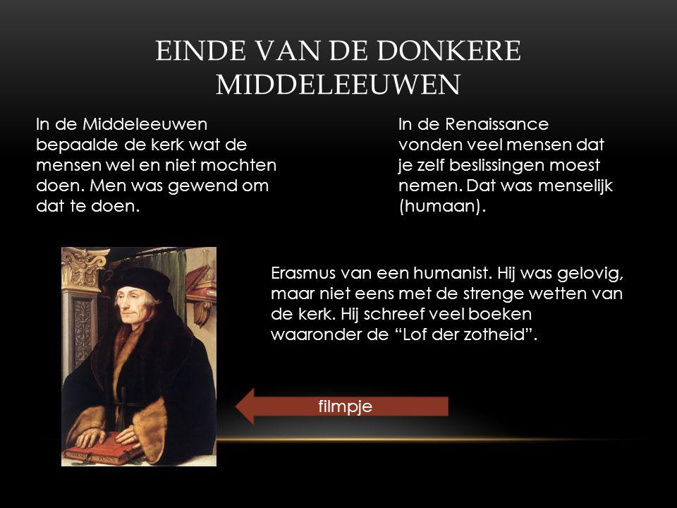 Einde van de donkere Middeleeuwen