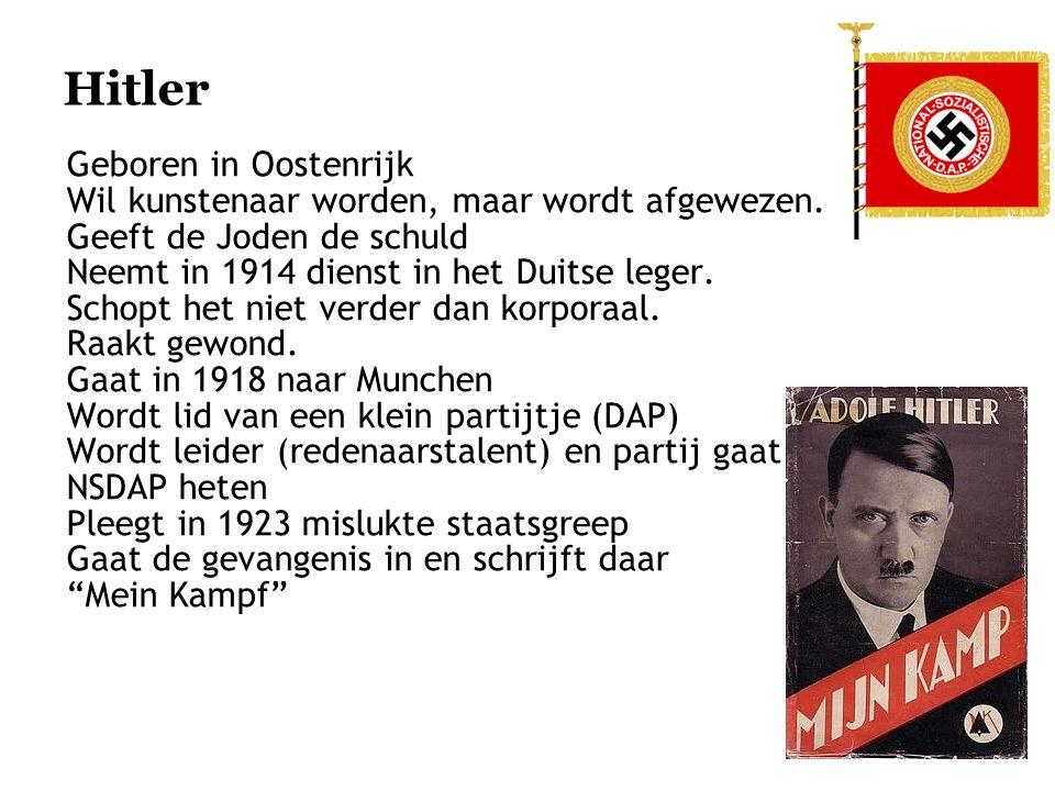 Hitler Geboren in Oostenrijk
