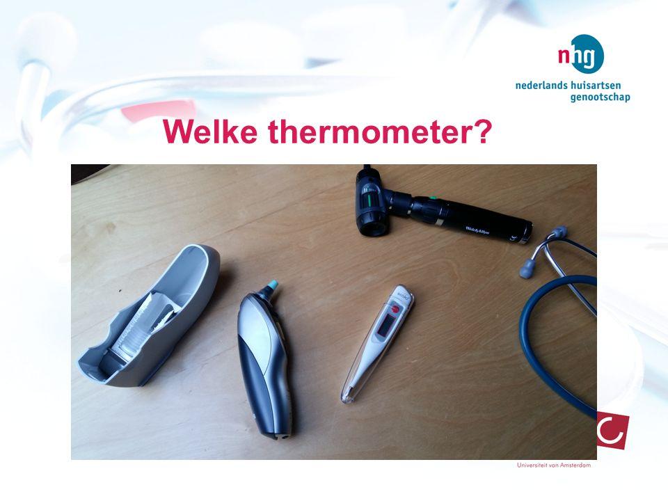 Welke thermometer Spreekuur: geregeld kinderen met koorts