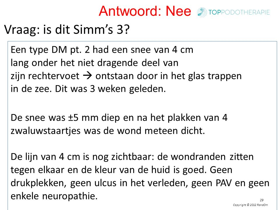 Antwoord: Nee Vraag: is dit Simm's 3
