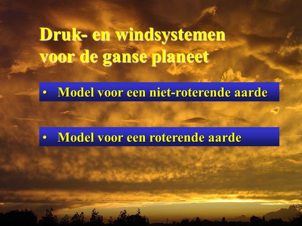 Druk- en windsystemen voor de ganse planeet
